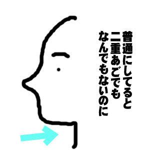 【6】40代後半、老化にまつわる「変な話」をしてもいいですか?^^;【二重顎じゃないのに強烈な二重顎に!?】