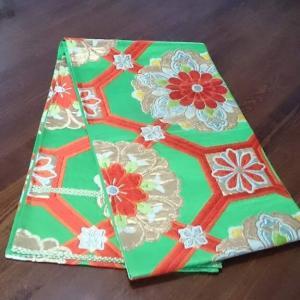 袋帯と作り帯を入手しました。