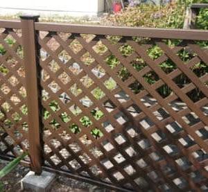 人工木フェンス 三協アルミ プラウディA型