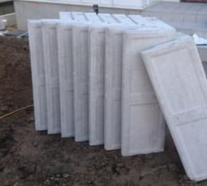 L型土留めブロックH-300工事を行いました。