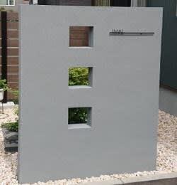 各種ブロック門柱のご紹介。