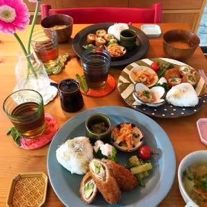 メインは無印のお惣菜で和ンプレート晩ごはん