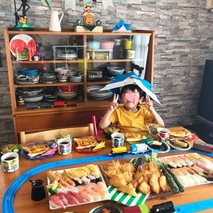 5歳誕生日パーティーの食卓 と 夢のケーキ