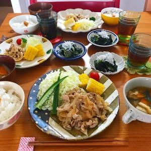 「きょう何食べる?」シロさんレシピ3食 コンプリート!