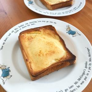 話題の!『バスクチーズトースト』作ってみた!
