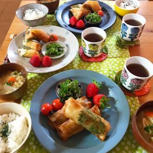 『ふゆまき』定食と 夫婦の会話