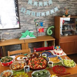 好きなものたくさんのHAPPY 6 BIRTHDAY PARTY!!