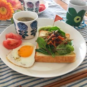 高級食パンを食す 朝ごはん