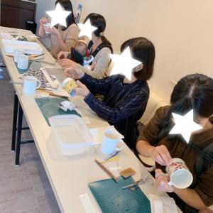 愛知県刈谷市の歯医者さんでポーセラーツ体験会開催させていただきました