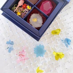鉱物×和菓子 美しいヲカシ
