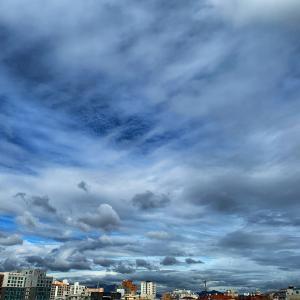 青い空が続く