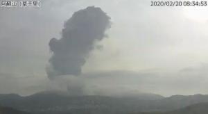 きのう諏訪之瀬島で噴火