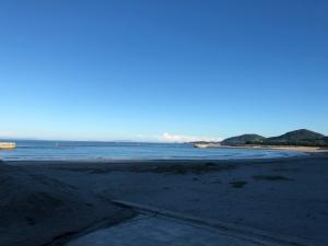早朝ドライブ,けさは江口浜へ