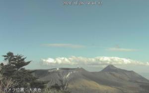 いまの霧島新燃岳
