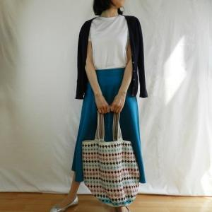 春夏キレイ色ロングスカート