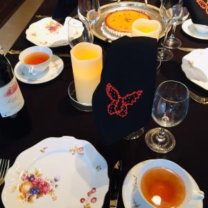 ハロウィンとThanksgivingDayのテーブル
