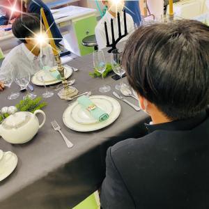 高校生食育 テーブルコーディネート授業