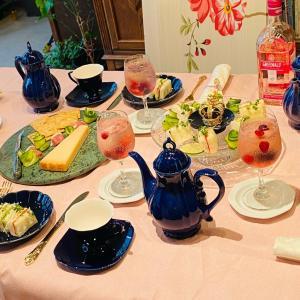 歴史文化マナーをお伝えしてこそのテーブルお料理紅茶教室