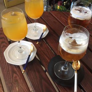 暑い日の中国茶ウェルカムドリンク