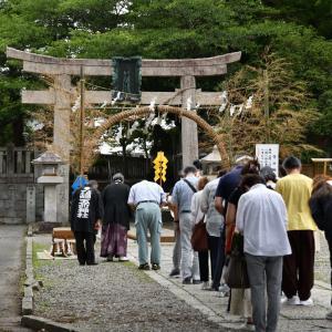 ◆「夏越の大祓式」(玉前神社 / 長生郡一宮町)