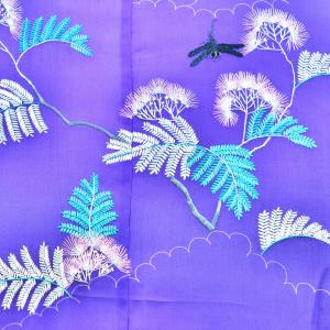 ◆合歓と蜻蛉にアザミなど(田園の美術館/いすみ寺)