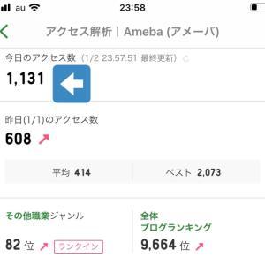 【】新年早々、誤差マイナス60(^◇^;)