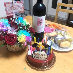 【】お誕生日のお祝い、ありがとう♪