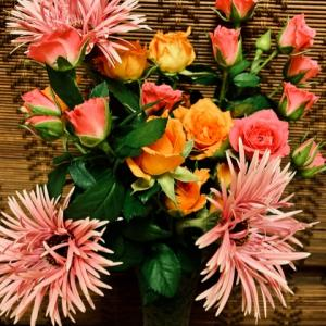 久しぶりにお花屋さんへ