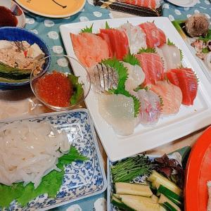 カ~イワレ巻き巻き手巻き寿司