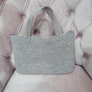 叔母が編んでくれたバッグ
