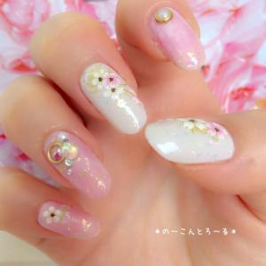 桜ネイル2017 〜ラグジュリアス桜ネイル〜
