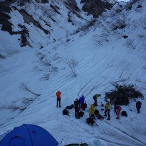 GWの例会山行は中止、集会も延期とした。