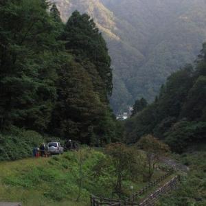 2011/10/09 宇奈月谷遡行(一日目)