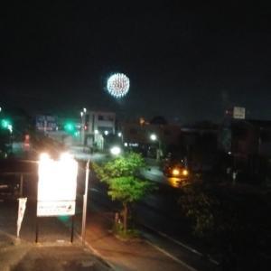 花火が上がったよ(*^.^*)