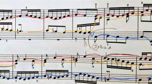 練習中♪バッハ 平均律Ⅰ第11番フーガ