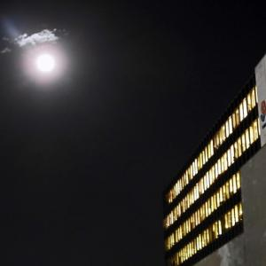 満月と光環