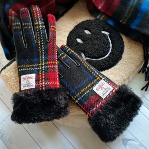 【しまむら購入品】ハリスツイード(Harris Tweed)手袋