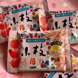 【キャンドゥ購入品】1袋50円の小枝「苺」が技あり