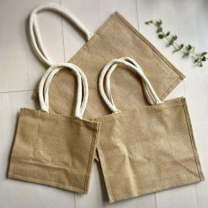 【無印良品購入品】ジュートバッグ全サイズ購入