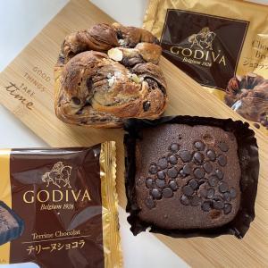 【コンビニ先行】GODIVAのパン買ってきた!