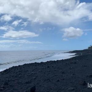 溶岩のビーチでパワーチャージとデトックス!