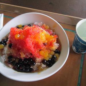 シェイブアイス 豆花 フルーツ タピオカ