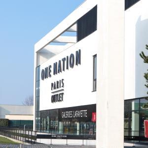 パリ最大のショッピングセンターOne Nation Parisで30-70%オフ!