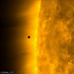 水星の太陽面通過
