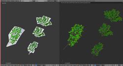 アニメーションのメイキング:Blenderで森を作る(4)