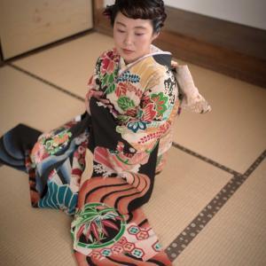 長崎キモノ迷宮時間◆アンティーク振袖撮影会◆その4