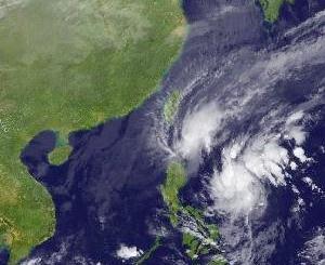フェースブックの写真に魅せられて 台風ラモンは今朝カガヤンに上陸