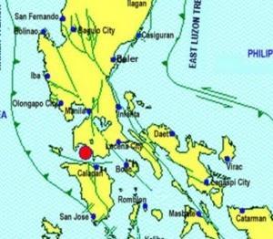 タール火山噴火から一週間 バタンガスでM4.6の強い地震