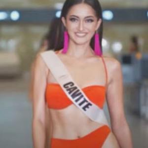 ミス・ユニバース2021フィリピン事前の水着ウォークがクラーク空港で行われる