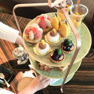 ザ・シャングリラ・ホテルで東京で初めてアフターヌーン!